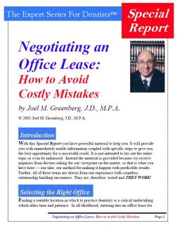 Negotiating an Office Lease: How to Avoid Costly Mistakes