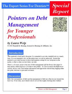 Pointers on Debt Management for Younger Professionals