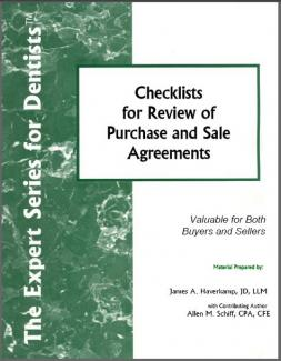 Checklists for Review of Purchase and Sale Agreements